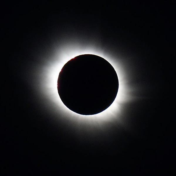 Everything lining up right for next month's total solar eclipse
