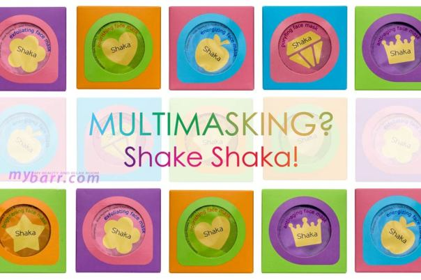 Mini maschere viso Shaka il multimasking è servito su ogni zona mybarr