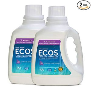 Earth Friendly Products ECOS 2X Hypoallergenic Liquid Laundry Detergent