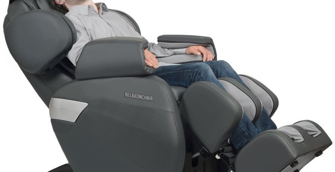 RELAXONCHAIR (MK-II PLUS) Full Body Zero Gravity Shiatsu Massage Chair With Built-In Heat And Air