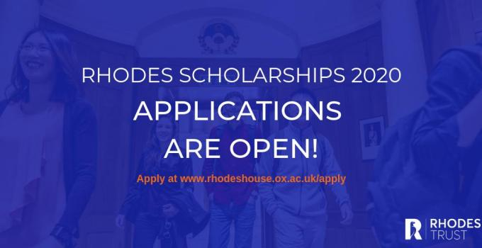 Rhodes Global Scholarships 2020 for Postgraduate Study at University of Oxford (Fully Funded) 3