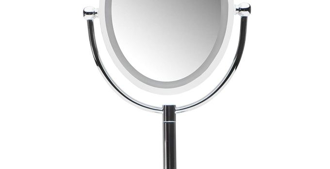 The best ring light mirror 2019 - Mirrorvana Motion Sensor LED Lighted Makeup Mirror