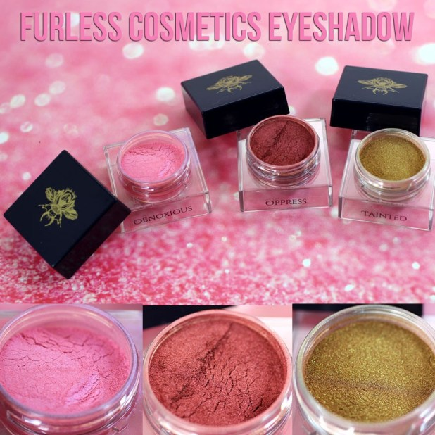 Furless Cosmetics Eyeshadow Review