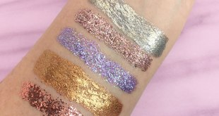 Lit Cosmetics Glitter Swatches