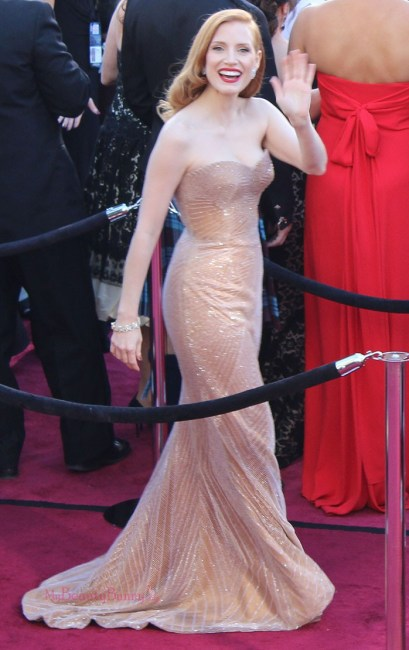 Jessica Chastain Oscars 2013