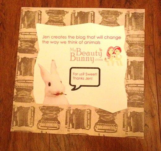 My Beauty Bunny Sign