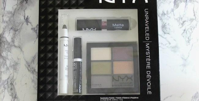 NYX Unraveled Makeup Set Review