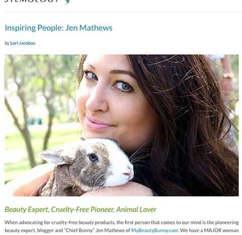 My Beauty Bunny Inspiring Person