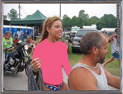 As Seen on TV - handsfree beer carrier - Click on image (Warning: NSFW)