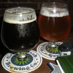 Belgian Brown and Super Freak, both from Green Flash
