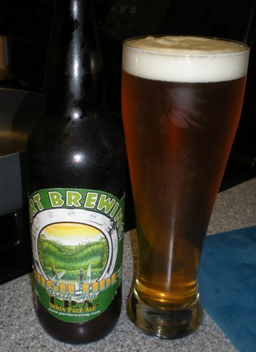 "High Tide ""fresh hop"" IPA from Port Brewing"
