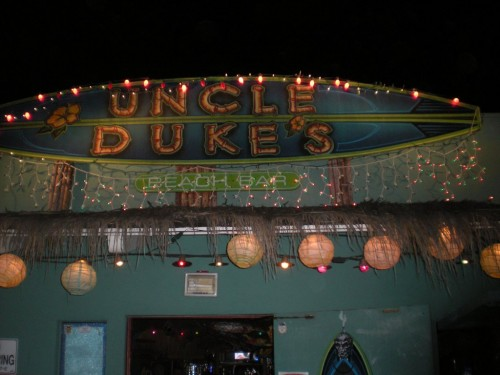 Uncle Duke's Beach Bar