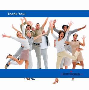 thank you employee communications