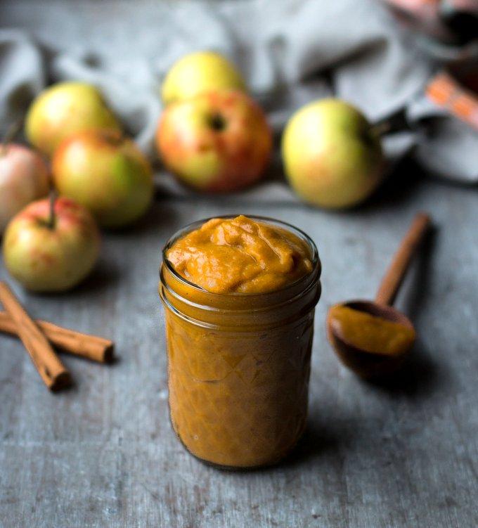 The Perfect Apple Pumpkin Butter. Vegan, gluten-free, myberryforest.com