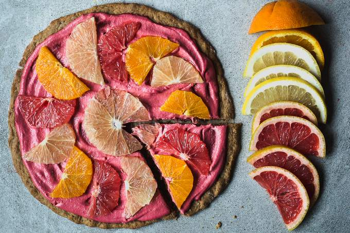 CITRUS PIZZA PIE and the beginning of a magical year
