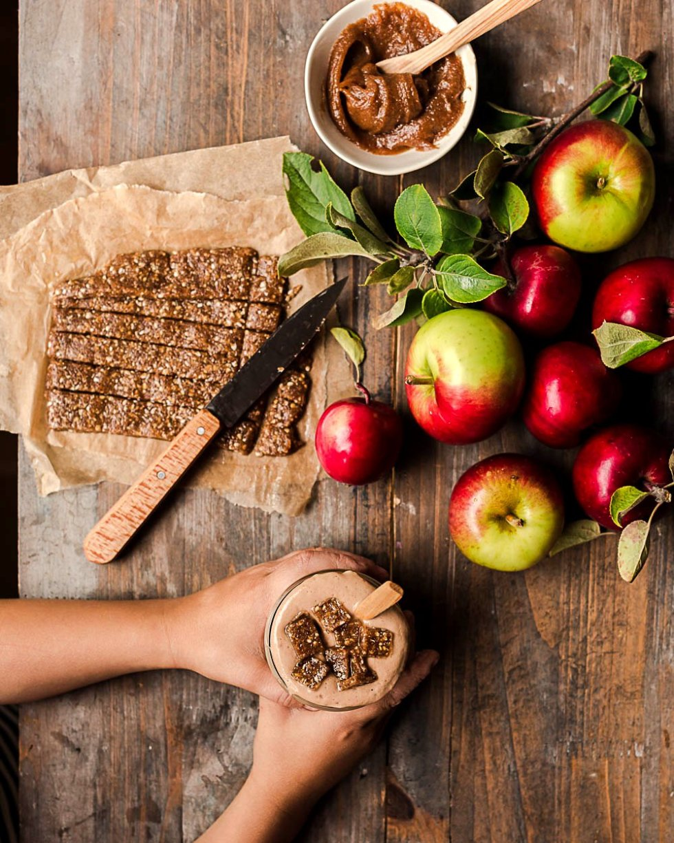 Caramel Apple Pie Dessert Smoothie