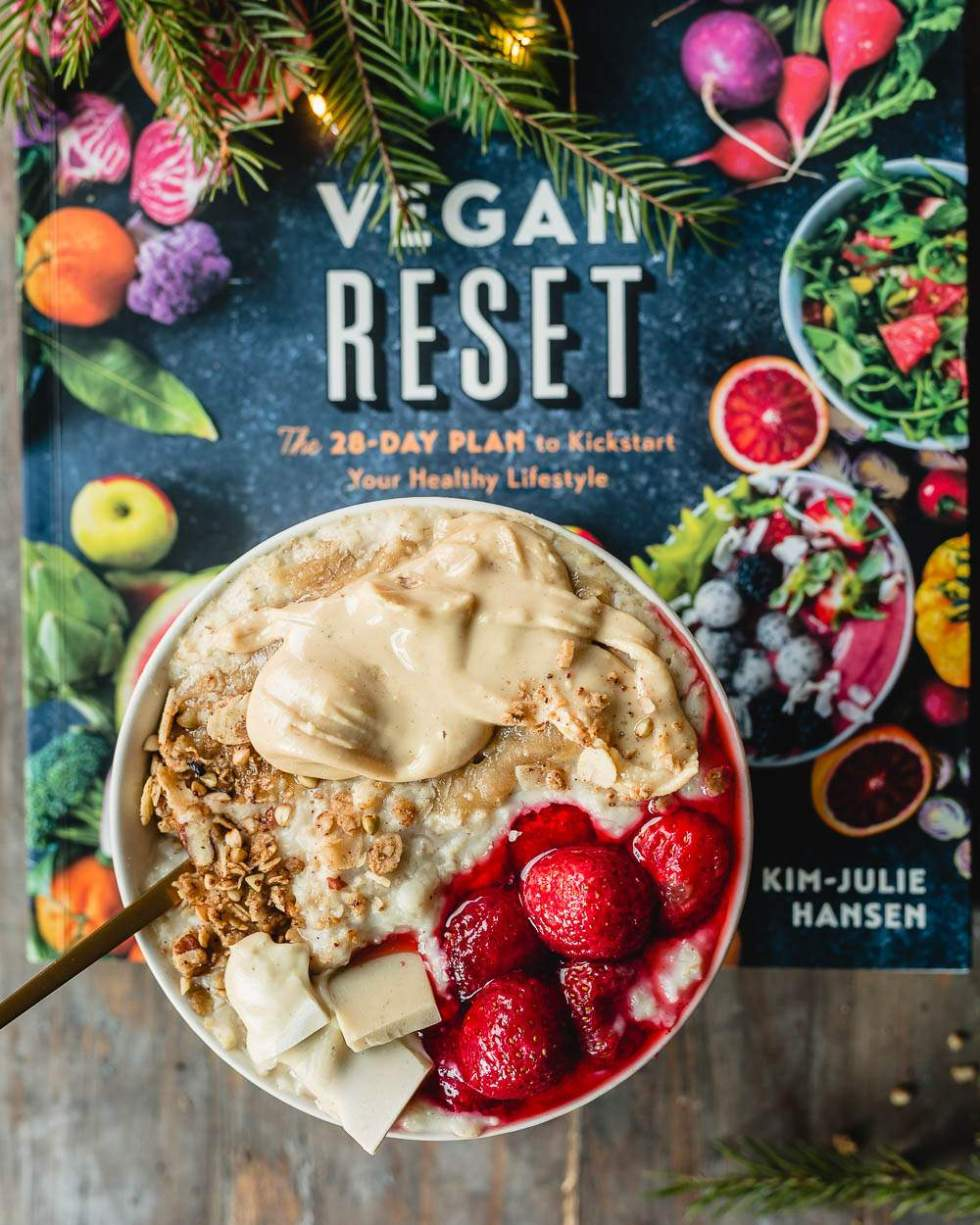 Vegan Reset: White Chocolate Butter