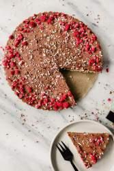 Vegaaninen ja gluteeniton Bounty -kakku