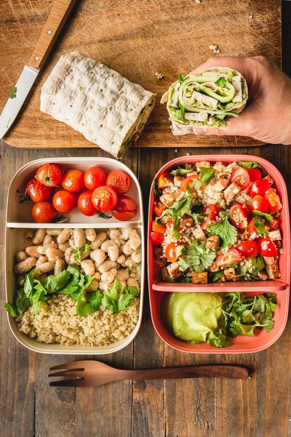 Easy Vegan Lunch Meal Prep