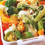 German Vegetable Casserole - Great Veggie Dinner