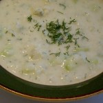 German Potato Cucumber Soup