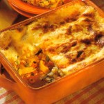 German Vegetable Recipe: Lasagne