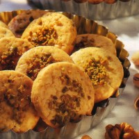 German Pistachio Cookies for the Holidays