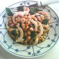German White Bean Salad
