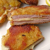 German Cordon Bleu - Filled Pork Schnitzel