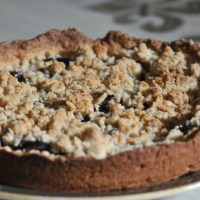 German Plum Cake with Streusel