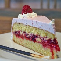 Mother's Day German Raspberry Cake