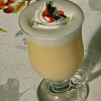 Halloween Hot white Chocolate