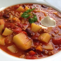 Great Summer Soup: German Farmer Stew