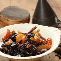 Holiday Dried Fruit Compote Dessert