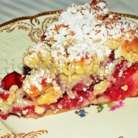 Mini Cherry Streusel Cake - A German Recipe