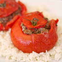 Stuffed Tomatoes - With Ground Beef