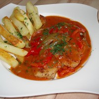 German Zigeuner Sauce - Spicy Red Sauce