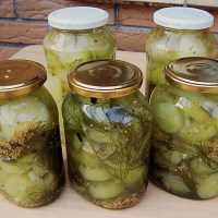 German Mustard Pickles