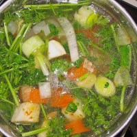 Home Made Vegetable Broth - German Recipe