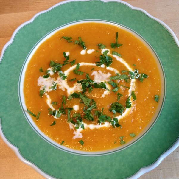 german pumpkin soup