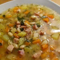 German Westphalia White Bean Soup