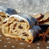 German Marzipan Quark Stollen - A Christmas Recipe