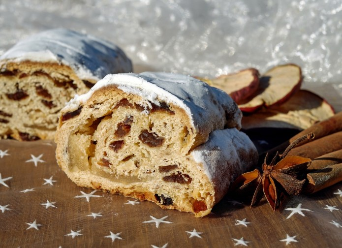 German Marzipan Quark Stollen