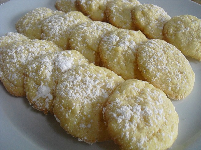 german holiday butter cookies