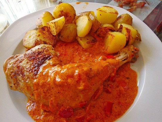 german paprika chicken