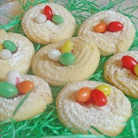 German Easter Nest Cookies