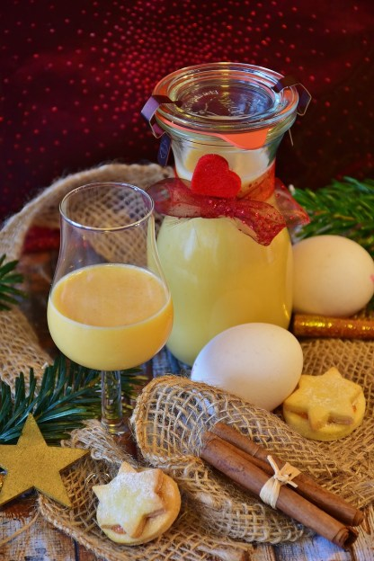 old fashioned egg liquor