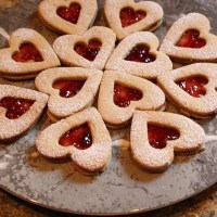 German Heart Shaped Cookies for Valentines Day