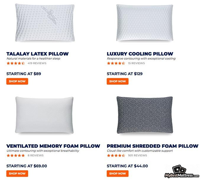 brooklyn bedding pillow review