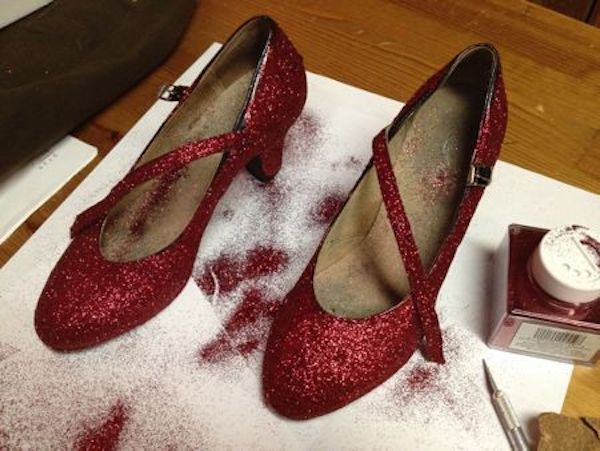 How To Make Ruby Slippers From The Wizard Of Oz My Big